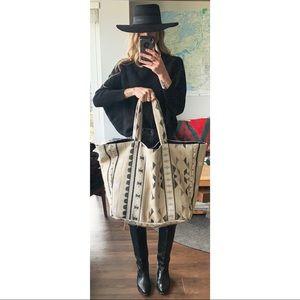 Handmade Pendleton Southwestern Shopper Tote Bag